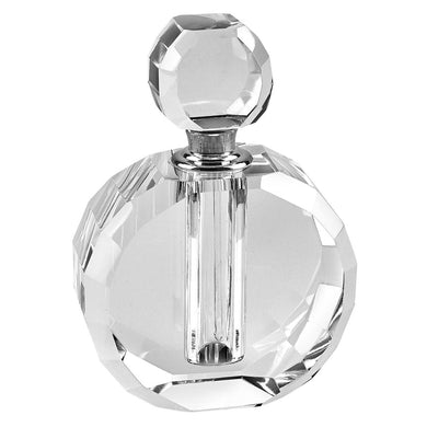 Round Crystal Glass Perfume Bottle