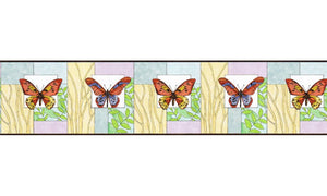 Butterfly NS7710B Wallpaper Border