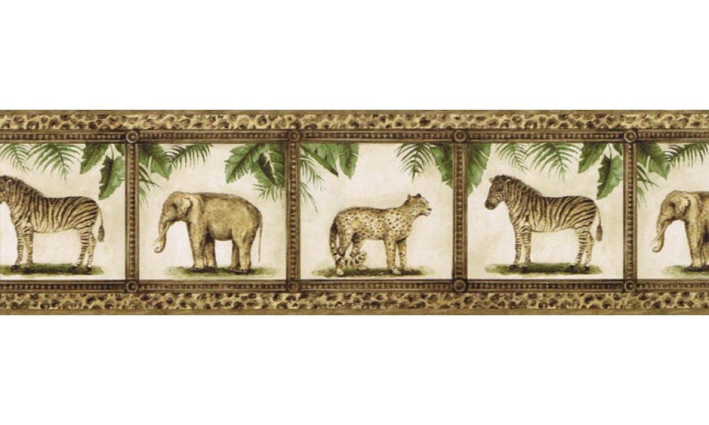 Animals TV23029B Wallpaper Border