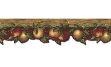 Apple Fruits KL76981DC Wallpaper Border