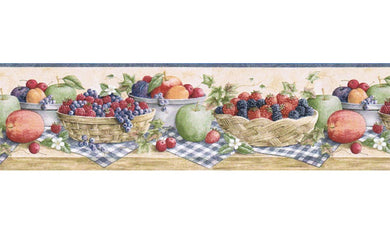 Kitchen Wallpaper Borders - Gifted Parrot