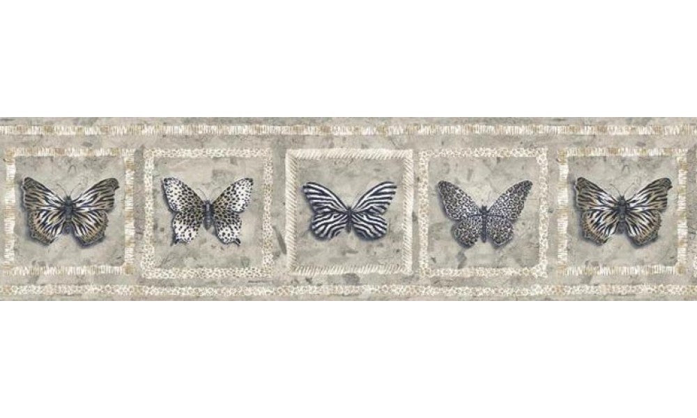 Butterfly AW77383 Wallpaper Border