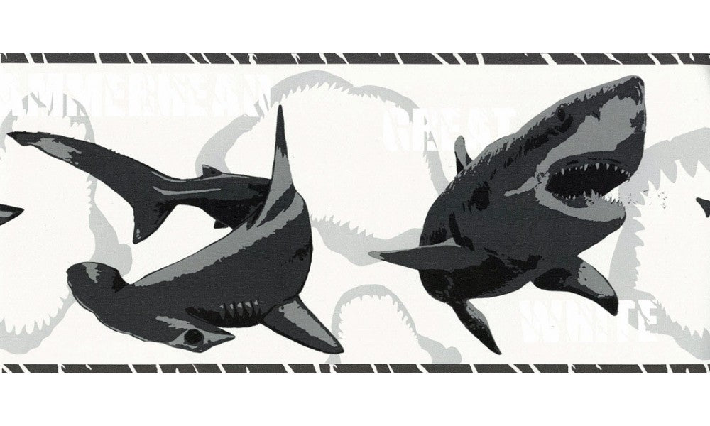 Fish BT2720 Wallpaper Border