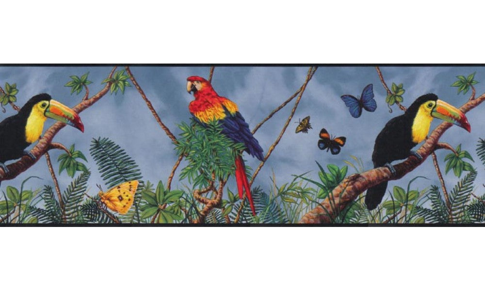 Birds B3302GB Wallpaper Border