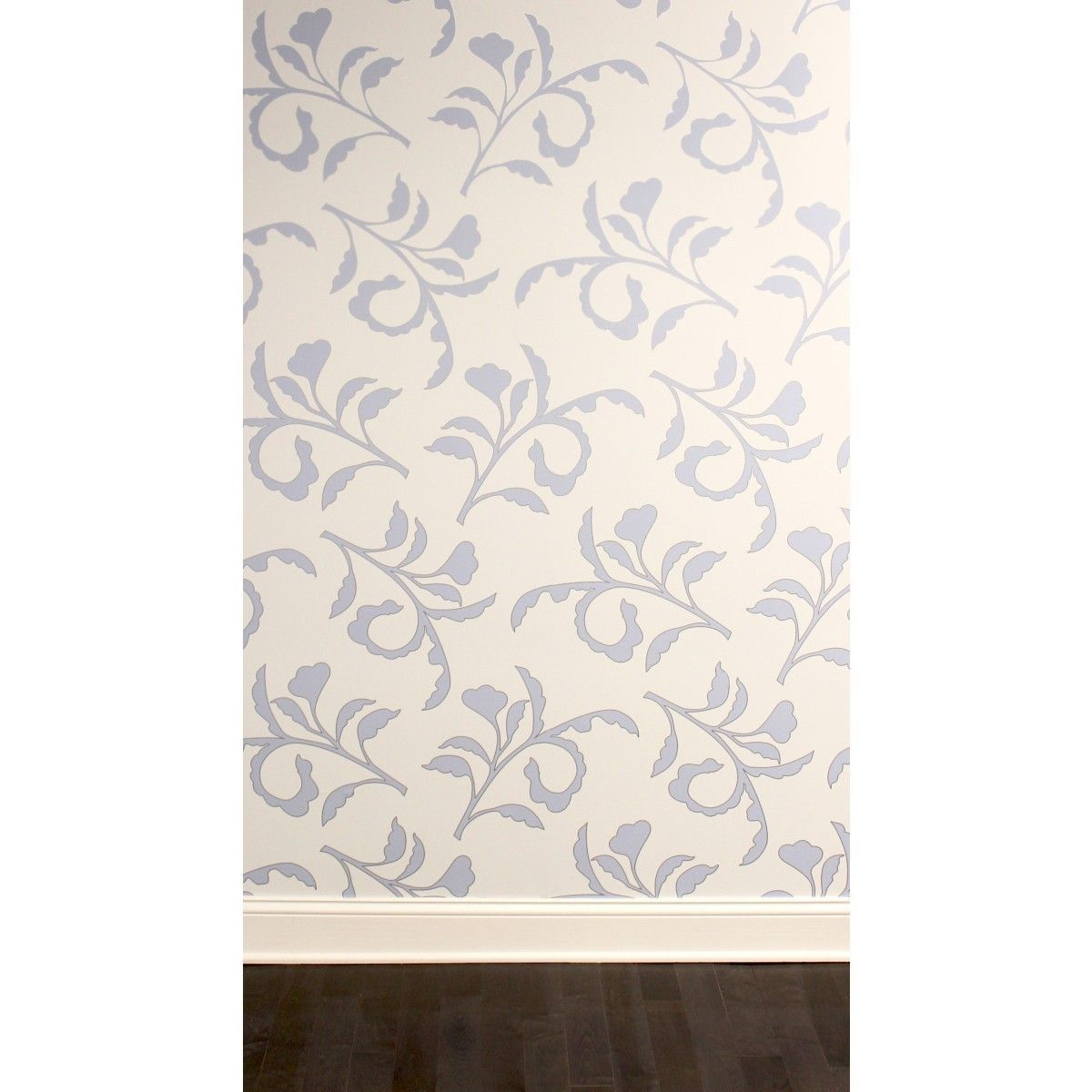 Big Branch Light Blue Ivory CR444 Self-Adhesive Wallpaper