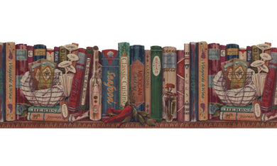 Books B103051 Wallpaper Border