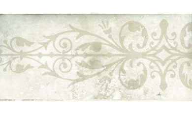 White Ash Floral Grill SS75490B Wallpaper Border