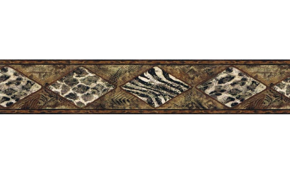 Animal Print B30017B Wallpaper Border