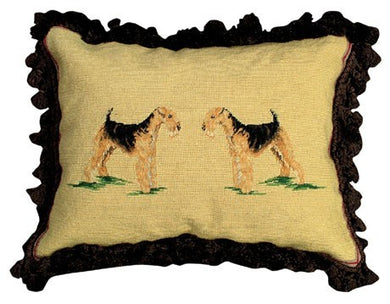 Airedale Decorative Pillow