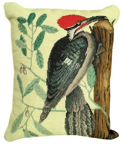 Woodpecker Pileated Decorative Pillow