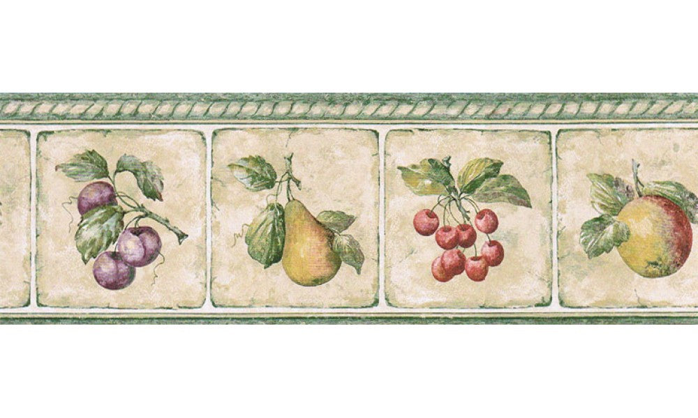 Fruits GS96006B Wallpaper Border