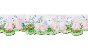 Rabbits B50027 Wallpaper Border