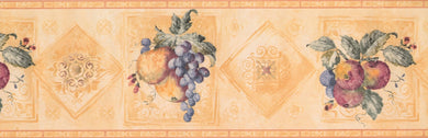 Vintage Grapes Pears Plums 5503233 Wallpaper Border