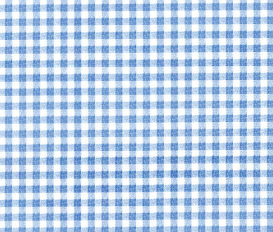 Blue Gingham Checkered Contact Paper Shelf Liner