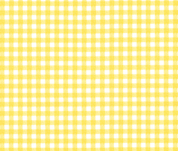 Yellow Gingham Contact Paper Shelf Liner