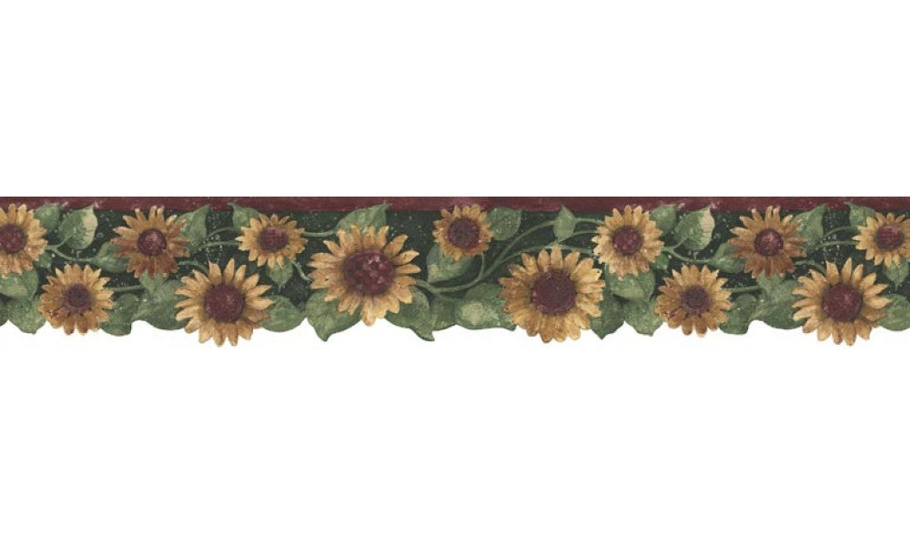 Sunflowers B75416 Wallpaper Border