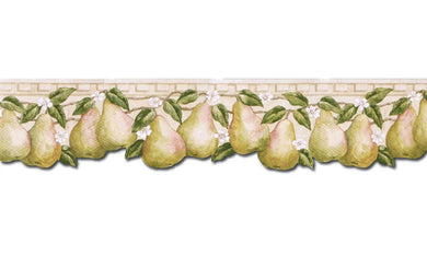 Pear Fruits PT24005B Wallpaper Border