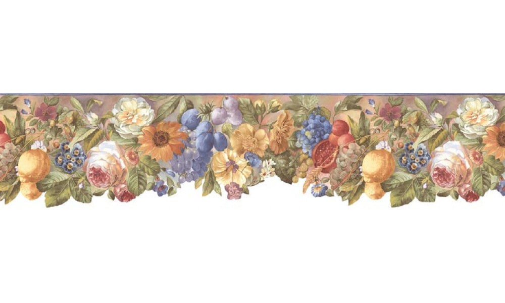 Floral BB74979 B74979 Wallpaper Border