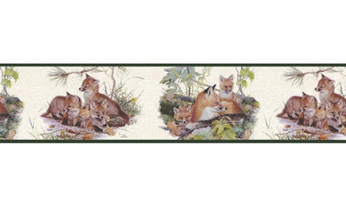 Animals B76376 Wallpaper Border