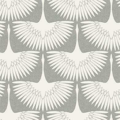 Feather Flock Chalk Self-Adhesive FE411 Wallpaper