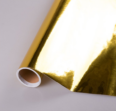 Gold Metal Foil Contact Paper 33 Feet