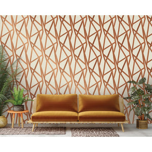 Intersections Urban Bronze Self-Adhesive IN412 Wallpaper