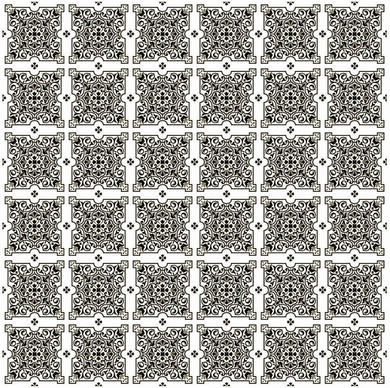 Julien Black White Tiles Contact Paper 9 FT.