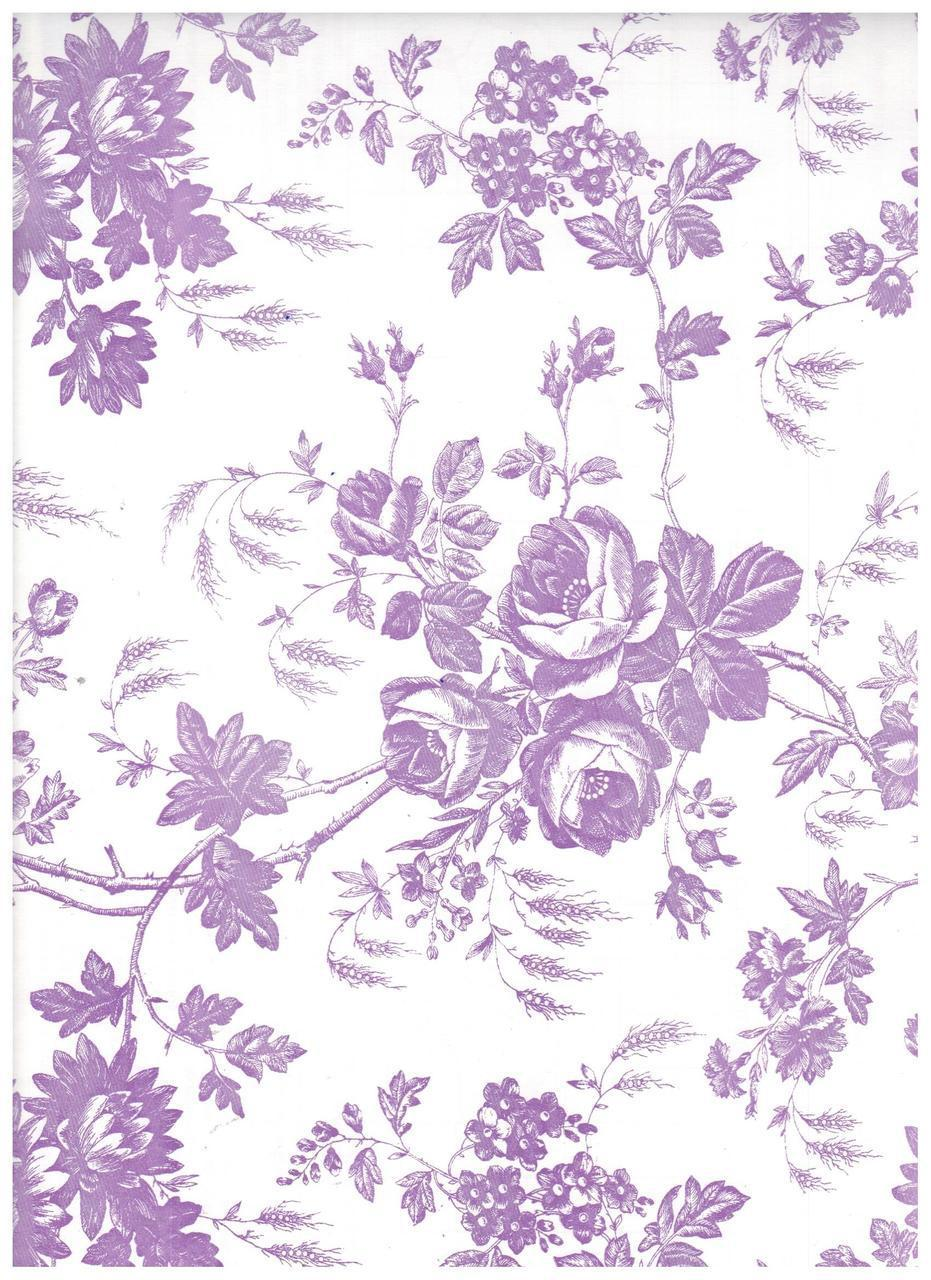 Toile Lavender Purple Contact Paper