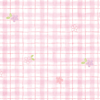 Pink Plaid Contact Paper Shelf Liner MPS35GP