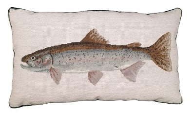 Rainbow Trout Decorative Pillow
