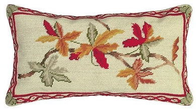 Autumn 12x21 Needlepoint Pillow