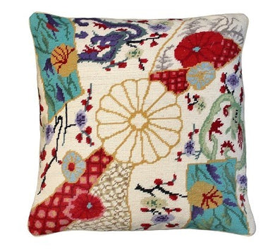 Imari Dragon Decorative Pillow