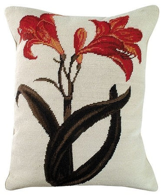 Amaryllis Decorative Pillow
