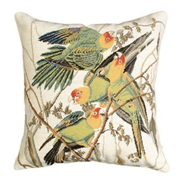 Carolina Parrot Decorative Pillow NCU-634