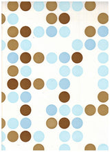 Load image into Gallery viewer, Blue Polka Dots Contact Paper
