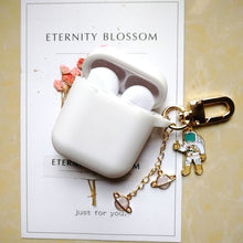 Load image into Gallery viewer, Apple AirPods Protective Silicone Case with Keychain