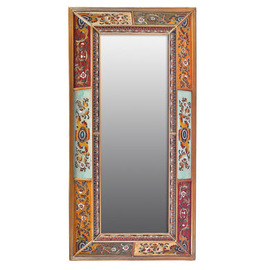 Baroque Double Angle Hanging Wall Mirror