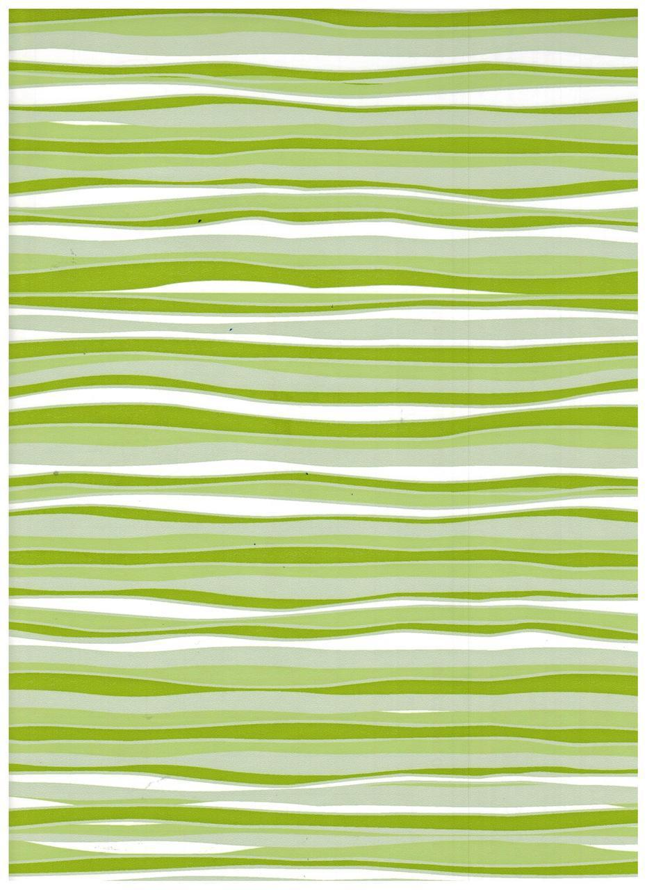 Lime Wave Contact Paper 9 FT