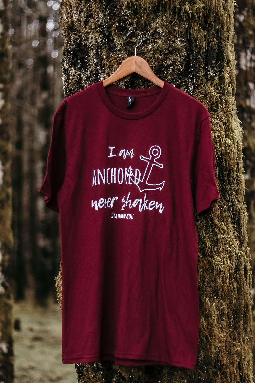 T-Shirt - I Am Anchored