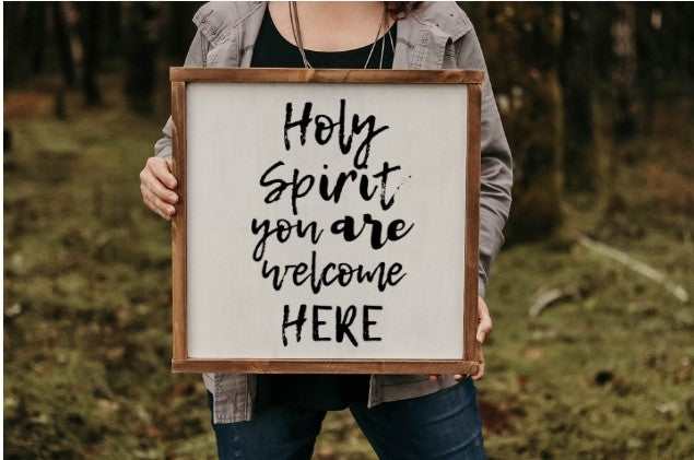 Holy Spirit You Are Welcome Here