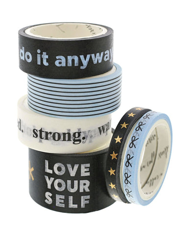 Bold Life Do It Anyway Washi Tape - Teresa Collins Studio