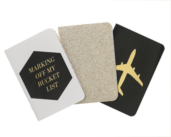 Jetsetter Passport Notebook Set (3 pack) - Teresa Collins Studio