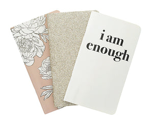 I Am Enough Traveler Notebook Set (3 pack) - Teresa Collins Studio