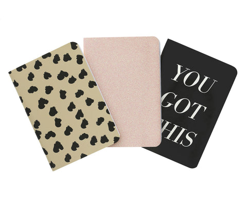 You Got This Passport Notebook Set (3 pack) - Teresa Collins Studio
