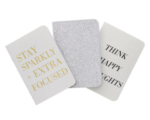 Happy Thoughts Passport Notebook Set (3 pack) - Teresa Collins Studio