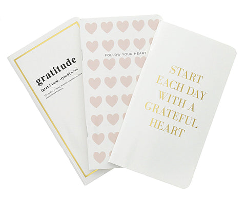 Grateful Heart Traveler Notebook Set (3 pack) - Teresa Collins Studio