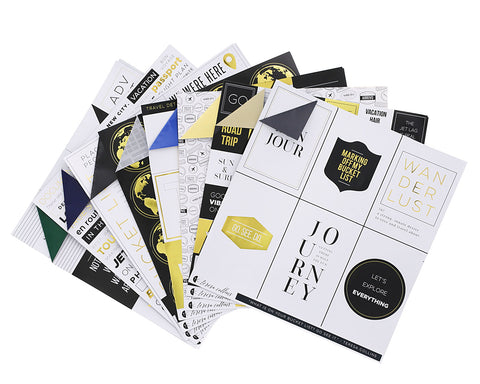 Jetsetter Paper Collection
