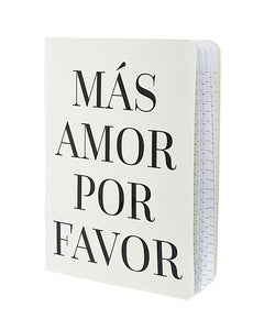Mas Amor Notebook