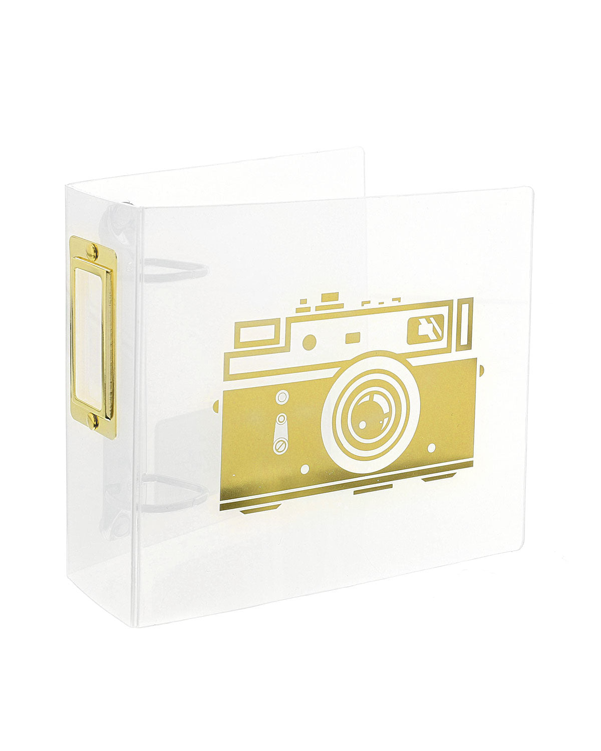 "Photo Gallery 4"" x 4"" Camera Photo Album"