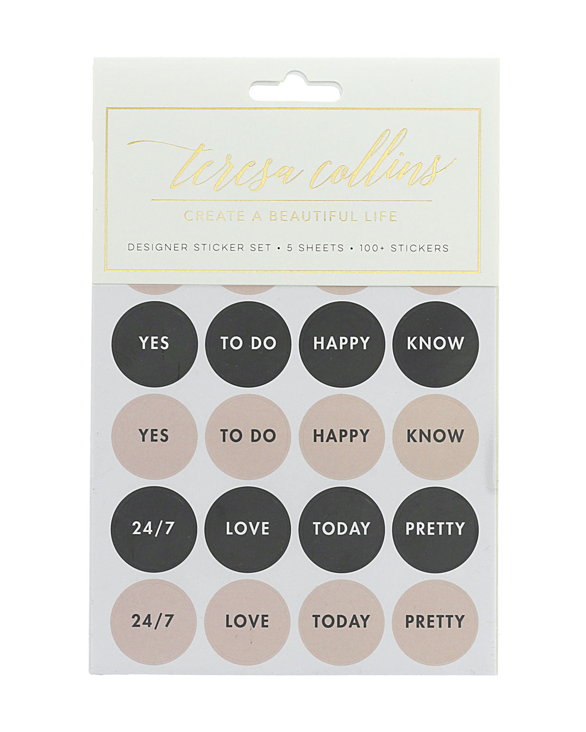 Quotes Designer Sticker Set 4